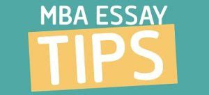 Reasons for pursuing an mba essay